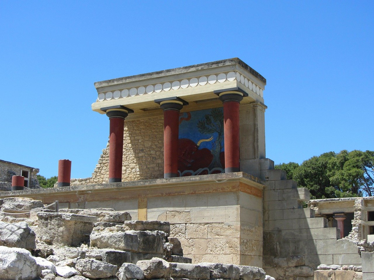 Tour to Knossos